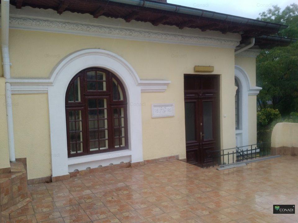 Casa si curte pentru activitati de birou, consultanta si comert