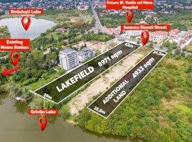Teren cu PUZ si proiect aprobate 9000 mp, Sisesti langa metrou Doi Cocosi