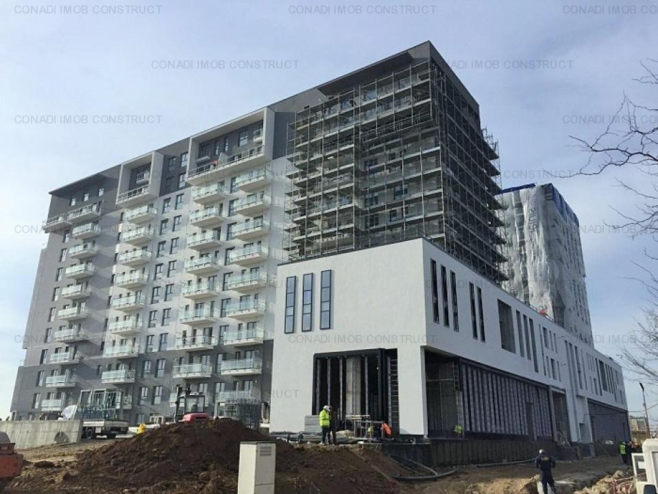 Loft Penthouse Barbu Vacarescu 2 camere