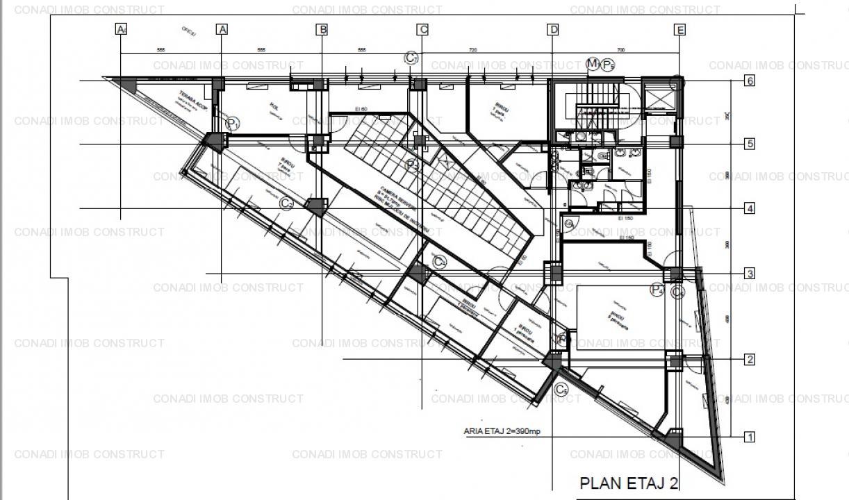 Cladire de birouri pentru inchiriere sau vanzare in zona Herastrau-Baneasa
