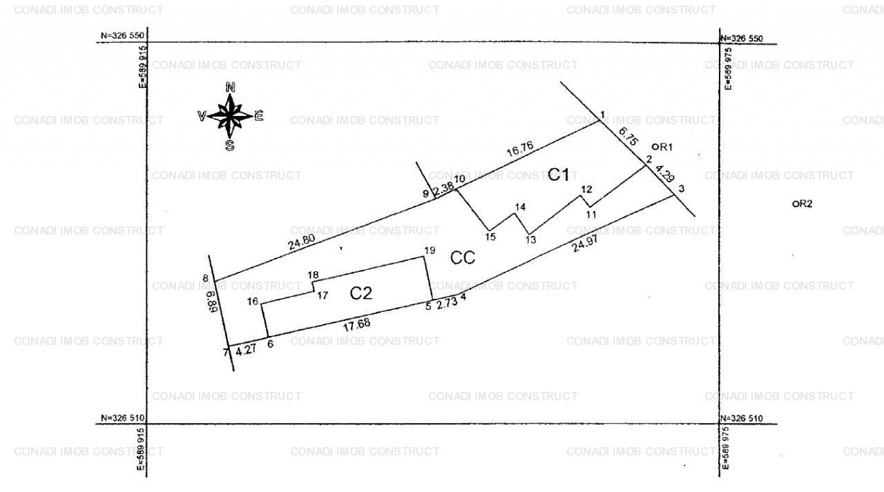 Teren Calea Calarasilor (POT 60%, CUT 2.5)