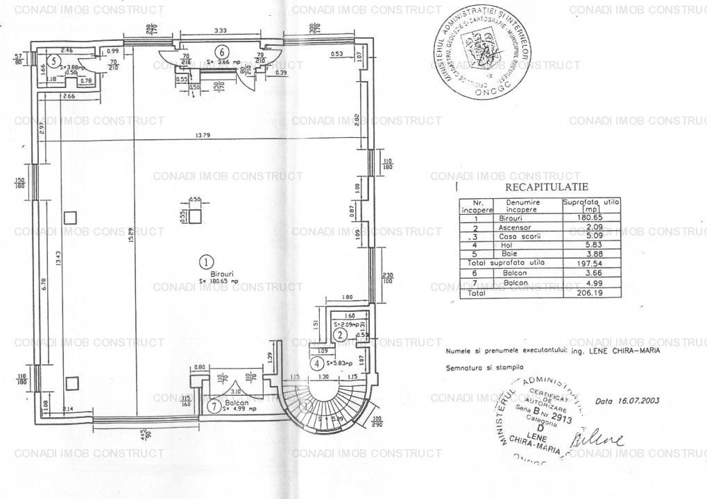 Casin / Arcul de Triumf / Domenii: Spatiu birouri lux, vanzare / inchiriere