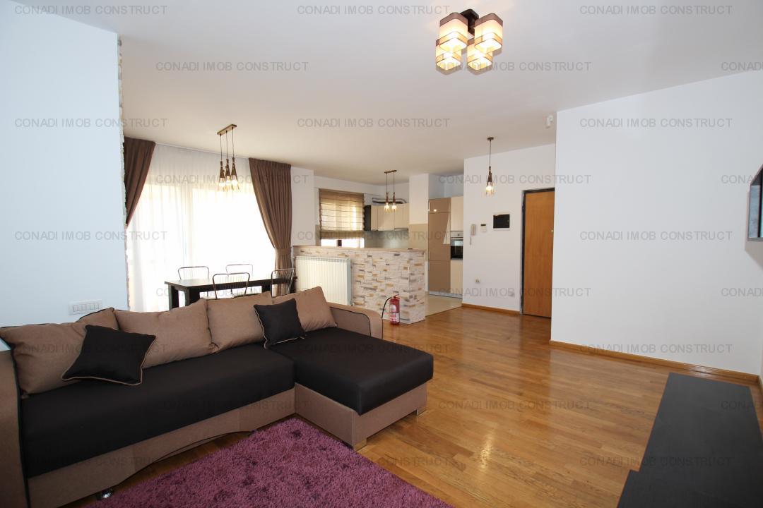 Herastrau - Cartierul Francez: inchiriere apartament 3 camere, mobilat nou