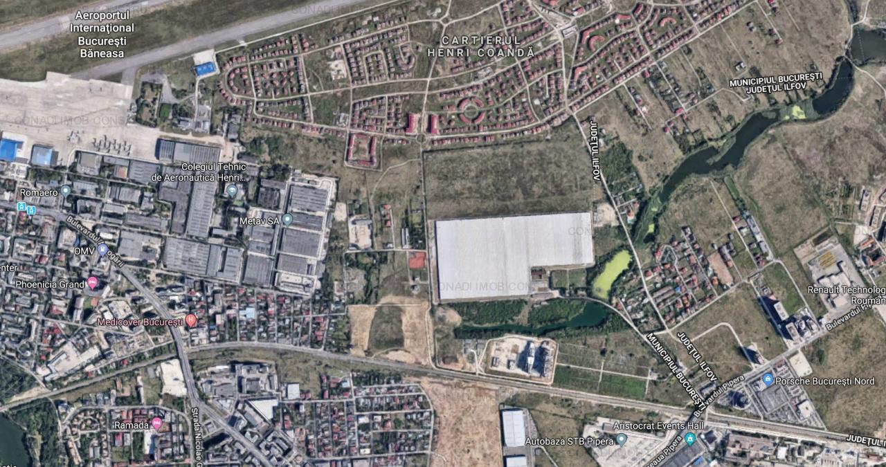 Teren 1900 mp, Aviatiei - Drumul Nisipoasa, POT 60%, CUT 2.2