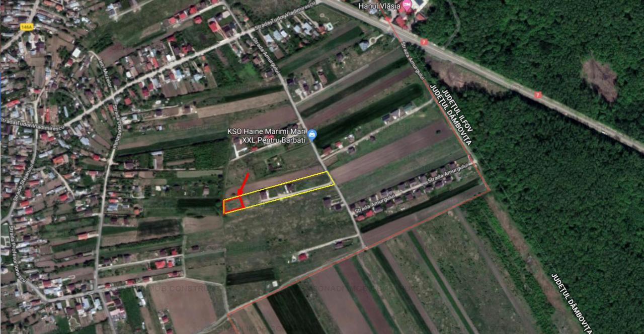 Teren pretabil constructie casa sau vila in Gulia Tartasesti