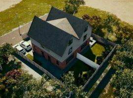 Vila in duplex construita in stil Tudor