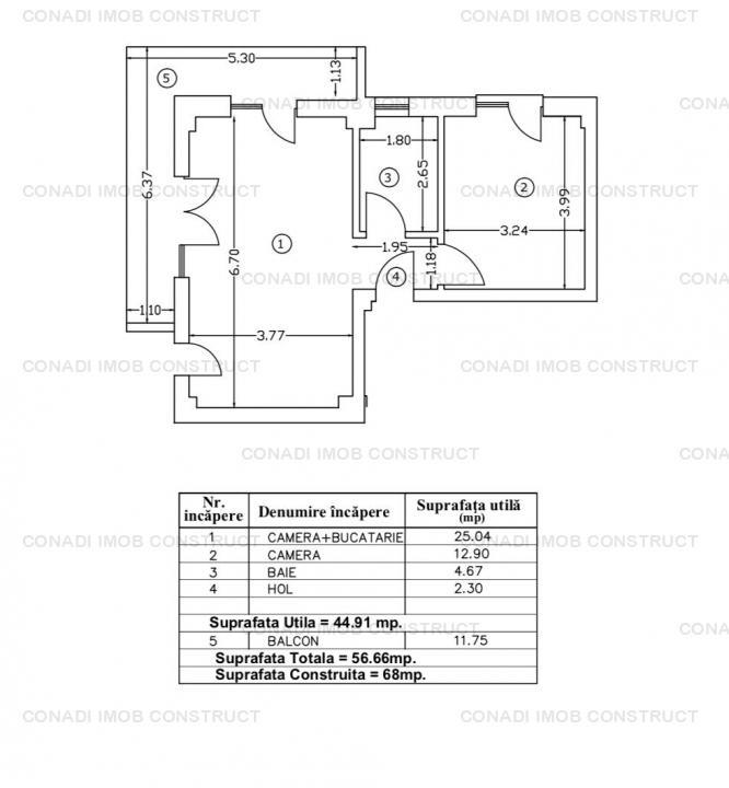 Apartament cu 3 camere zona Parc Bazilescu - Sos Chitilei
