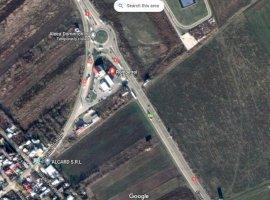 Teren cu deschidere pe DNCB Ploiesti ( DN1 ) si  DN1A zona Brazi