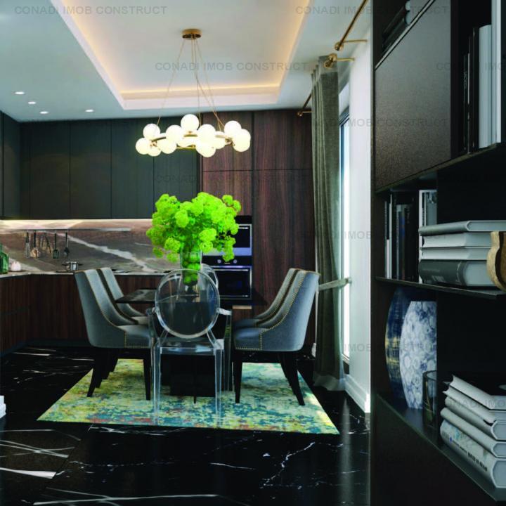 Apartament cu 3 camere in proiect luxury boutique zona Pipera