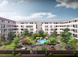 Apartament cu 2 camere si gradina in complex rezidential modern zona Colosseum Chitila Tip 2.A.1