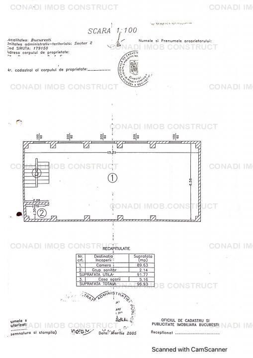 Vila pentru inchiriere in regim de birouri sau comercial