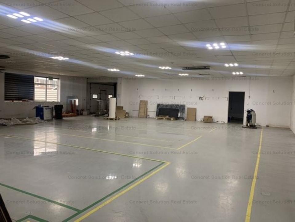 Inchiriez Hala productie, depozitare  si birouri zona Autostrada
