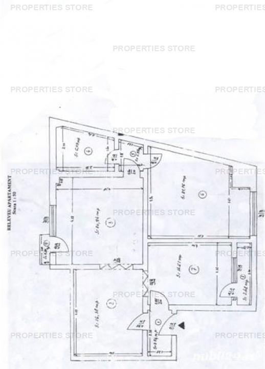 Apartament 4 camere , Rosetti
