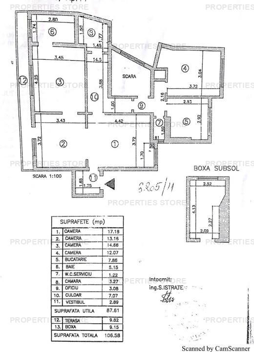 4 camere Gradina Icoanei