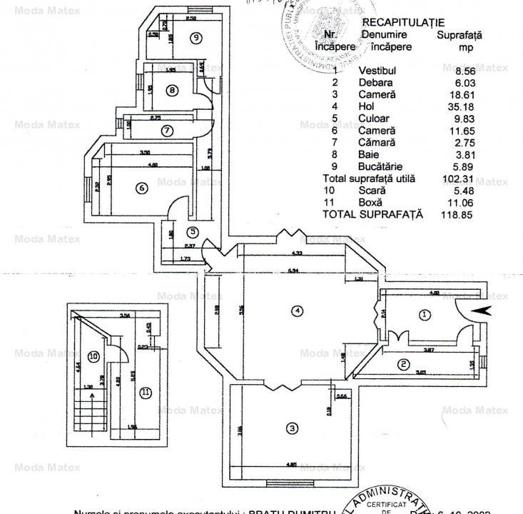 Piata Romana, Mendeleev, 120mp