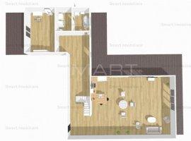 Penthouse cu 4 camere, zona Iulius Mall