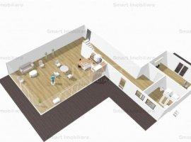 Penthouse 4 camere, loc parcare, zona Iulius Mall