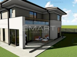 Casa individuala cu garaj 700 mp teren, zona Faget