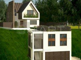 Casa cu un concept inedit, 4 camere, garaj, Feleacu
