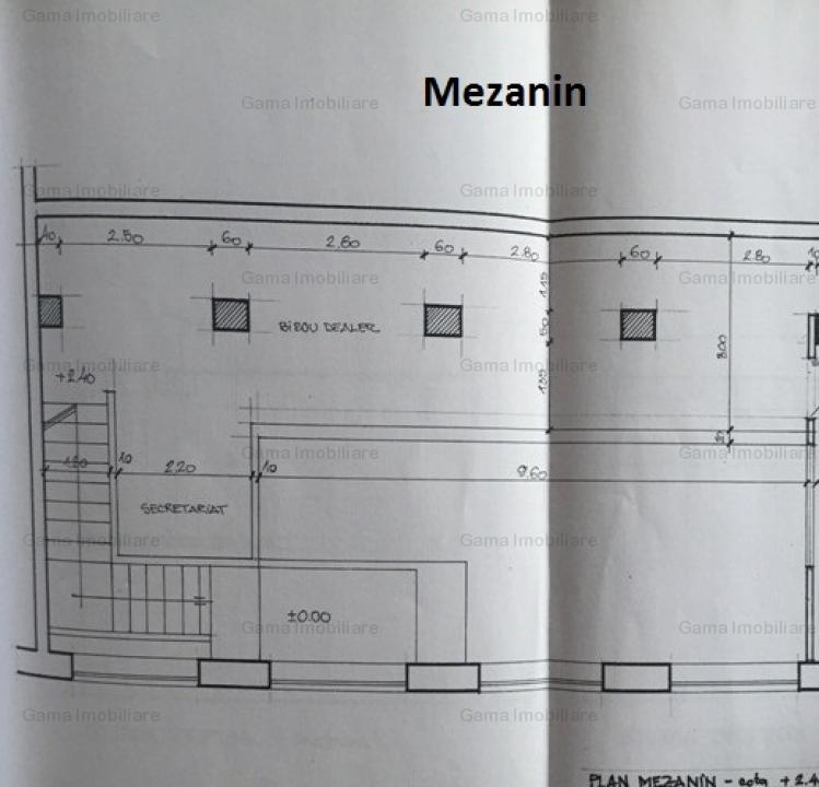 GM978 Vanzare spatiu comercial,Grivita-Podul Grant,  267mp