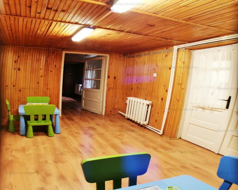 GM1074 Inchiriere casa P+M, 7 camere, Dacia_Eminescu, singur curte