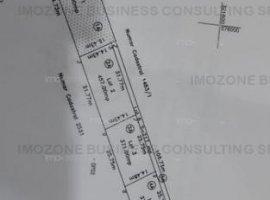Bragadiru, teren 731 mp, pretabil REZIDENȚIAL/COMERCIAL, intravilan, COMISION 0%