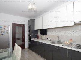 Apartament 3 camere etaj 5, decomandat, 78 mp, 2 bai, bloc 2014, parcare inclusa