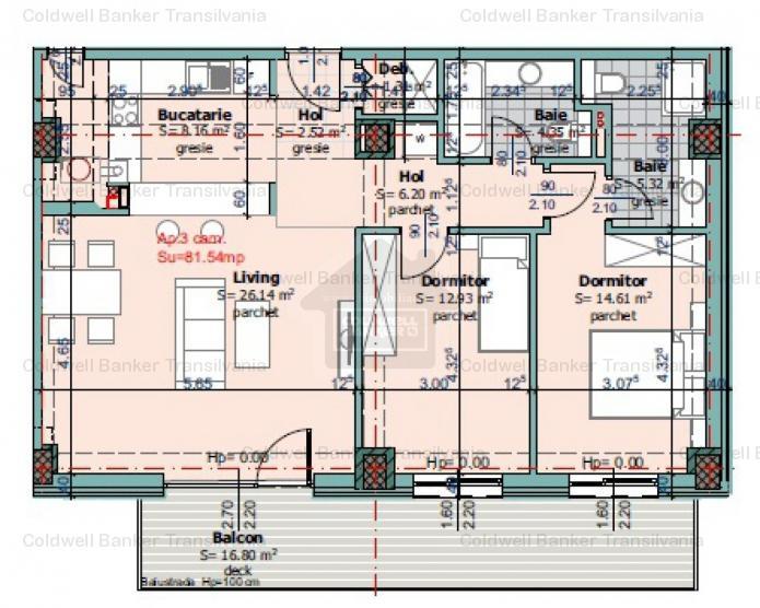 Vanzare apartament 3 camere, Iris, Cluj-Napoca