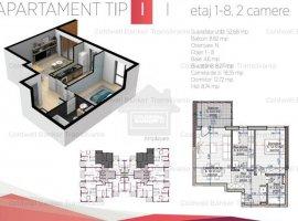 Vanzare  apartament  cu 2 camere  decomandat Cluj, Cluj-Napoca  - 58113 EURO