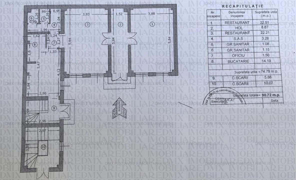 Vila stil Baroc, Dimitrie Cantemir, Budapesta, Unirii