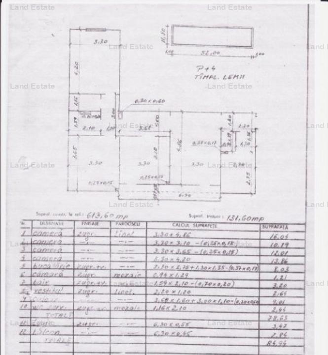 Apartament cu 4 camere in zona Apusului