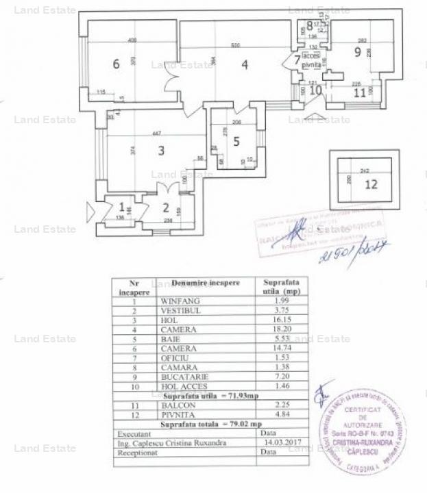 APARTAMENT 3 CAMERE IN VILA-PIATA CHIBRIT