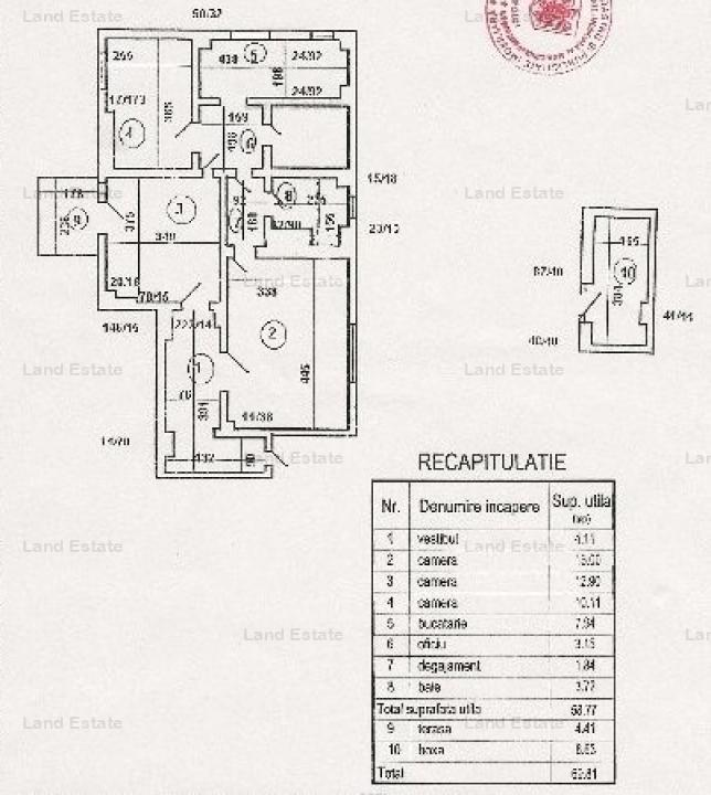 3 camere Capitale - Dorobanti