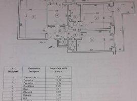 Apartament cu 3 camere de vanzare, zona Doamna Ghica