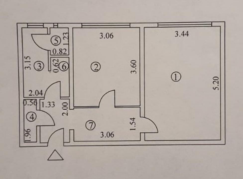 Apartament cu 2 camere in zona DRUMUL TABEREI