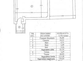 APARTAMENT DE VANZARE 2-3 CAMERE BUCURESTI NOI ( 150 M METROU LAMINORULUI )