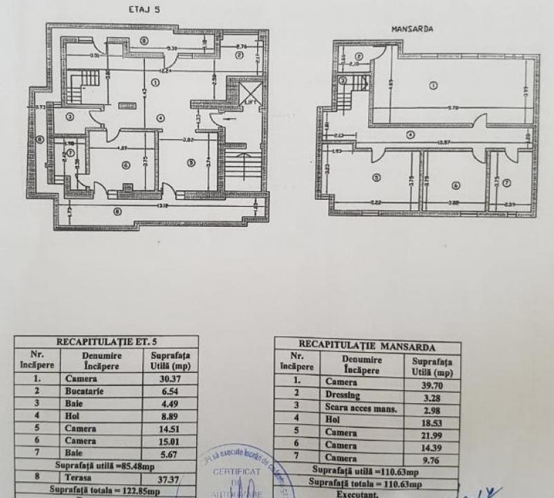 5 camere Dorobanti - Floreasca