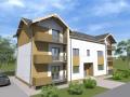 Apartament 2 camere, 62mp, zona Horpaz
