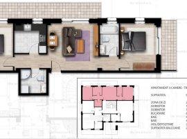 Apartament lux 3 camere