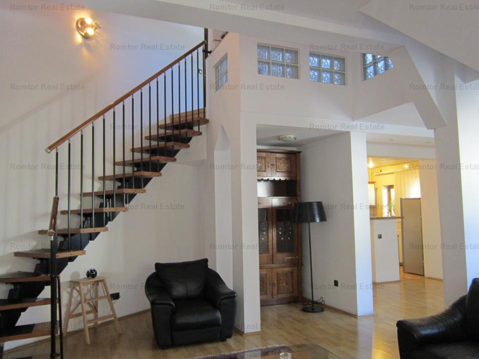 Dorobanti- Capitale apartament 3 camere in vila mobilat