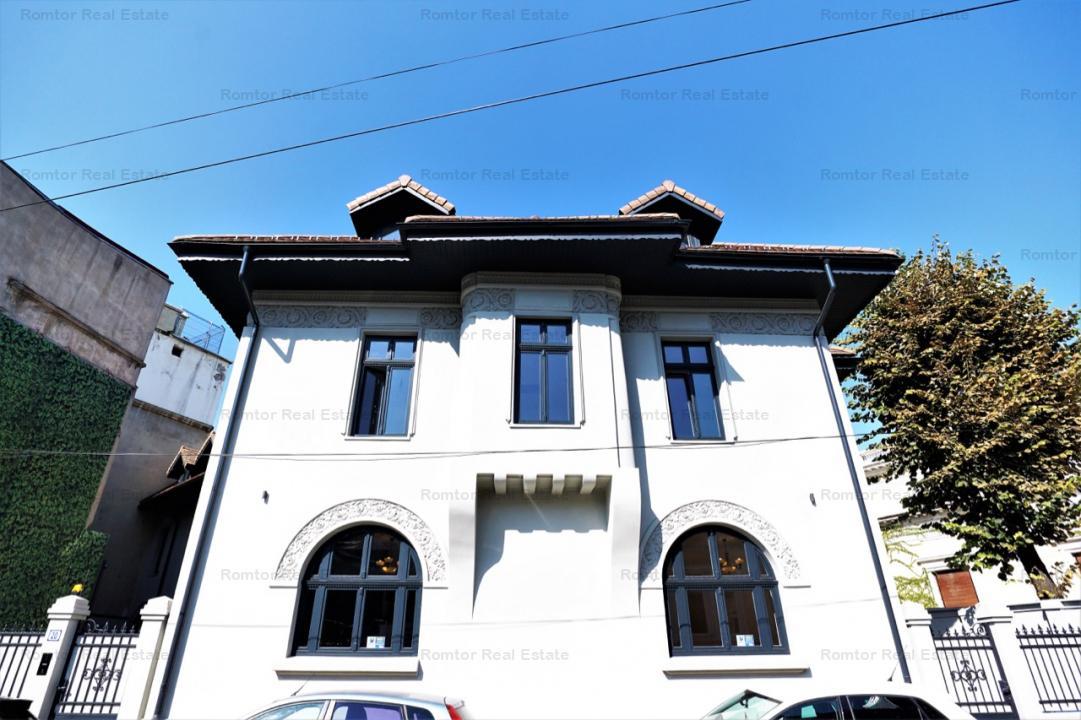 Gradina Icoanei- Romana vila 950mp birouri