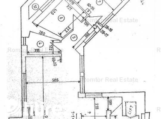 Apartament deosebit cu 3 camere in zona Cismigiu