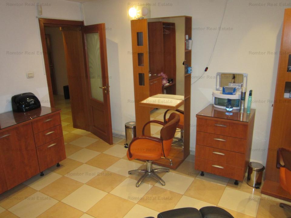 Cotroceni-Facultatea de Medicina, Salon cosmetica utilat complet