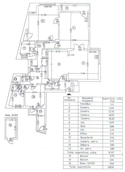 Piata Universitatii - Sala Dales, imobil consolidat, inchiriat