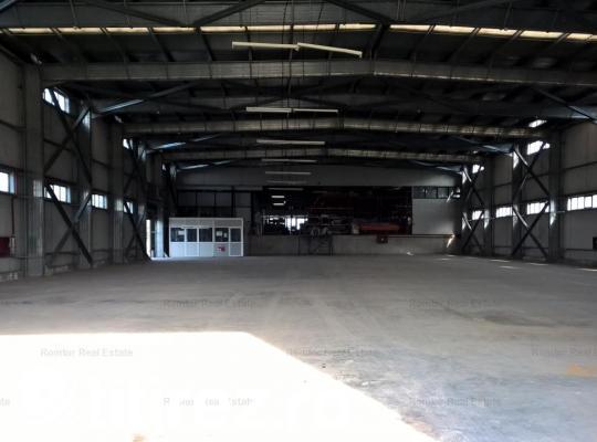 Teren cu spatiu industrial de inchiriat in zona Militari