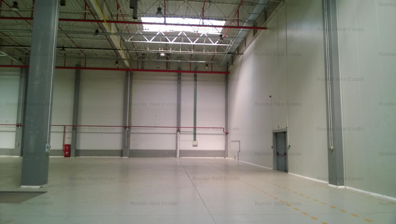 West Area - A1 storage hall, production,food, pharmaceutical