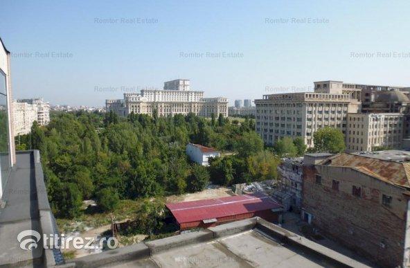 Palatul Parlamentului, penthouse duplex, garaj dublu, panorama 360 grade