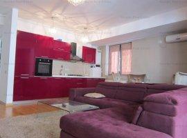 Herastrau apartament 3 camere mobilat/ utilat de inchiriat