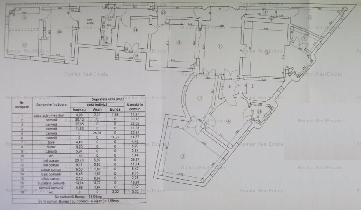 Piata Romana-Magheru, 220 mp, etaj 1, liber