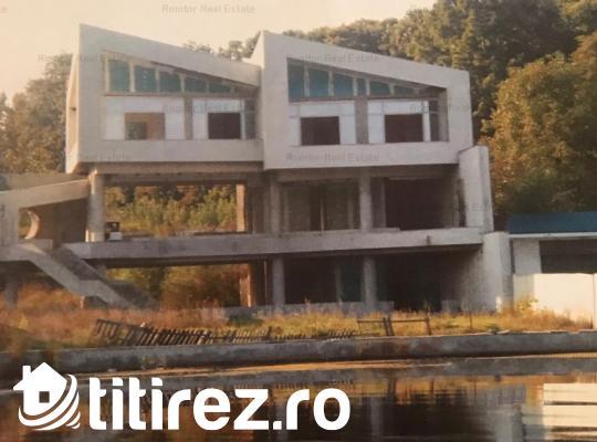 Snagov-Silistea Snagovului, deschidere la lac, proiect deosebit